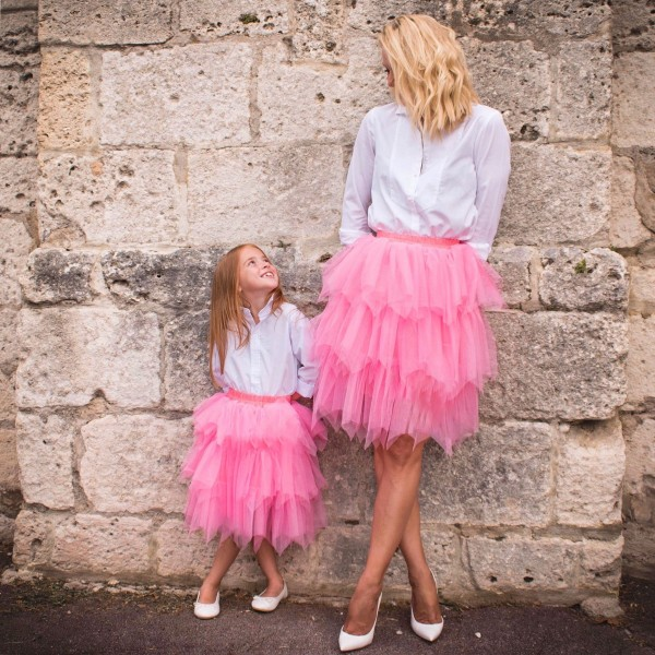 Jupe Tulle Mère / Fille