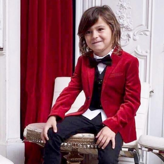 veste ruby + gilet noir