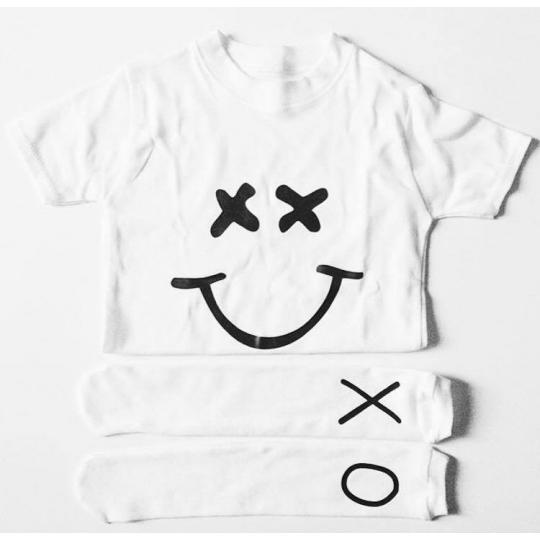 Tee shirt Smiley / Sad